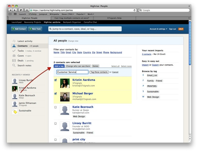 how to add multiple contacts to facebook