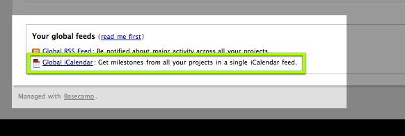 how to create an icalendar feed