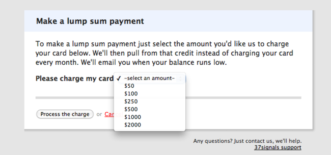 Campfire What Are My Options For Payment Can I Pay By